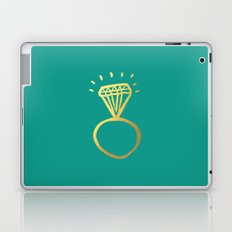Diamond Ring Laptop & iPad Skin