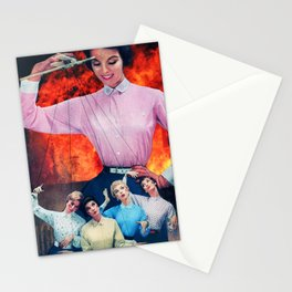 Fire Dolls Stationery Cards