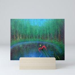 Sanctum Blue Mini Art Print