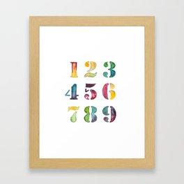 Count on Me Framed Art Print