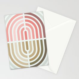 Capsule II - Opposing arches Stationery Cards