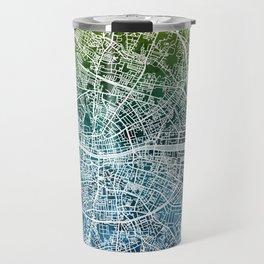 Dublin Ireland City Map Travel Mug