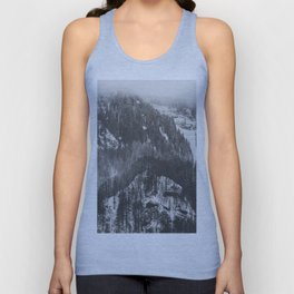 Frosty Forest - Adventure Awaits Unisex Tank Top