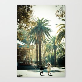 Playtime is Over Canvas Print