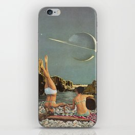 Serenade to Saturn iPhone Skin