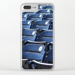 Play Ball! - Stadium Seats Clear iPhone Case