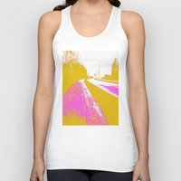 road Tank Tops featuring Road by Mr and Mrs Quirynen