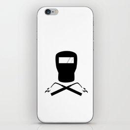 Weld or Die iPhone Skin