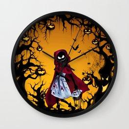 Red Riding Hood Nightmare Wall Clock