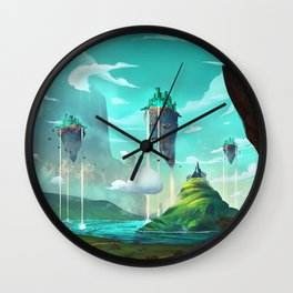 Road to Oz. Wall Clock