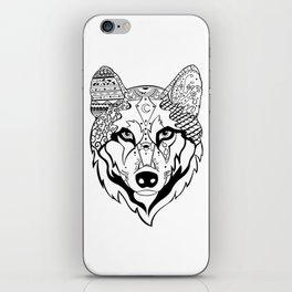 Sonya The Wolf iPhone Skin
