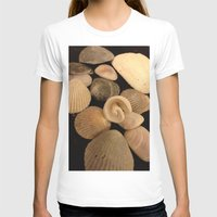 shells T-shirts featuring Shells  by Josj