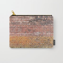 Washed Out City Wall - Abstract Urban Color Carry-All Pouch