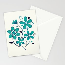 Majestic Floral Stationery Cards