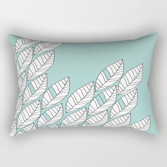 Leaves Stream 2 Rectangular Pillow