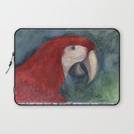 Red Macaw Laptop Sleeve