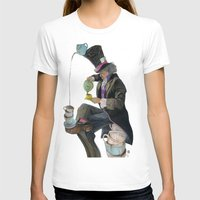 mad hatter T-shirts featuring Mad Hatter by Oliver Dominguez