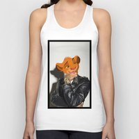 simba Tank Tops featuring Lion King rocker by Andrea Vietti