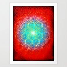 Alien Egg Cluster Art Print