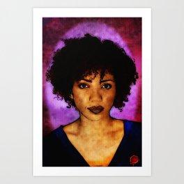 Jasika Nicole Portraits Art Print
