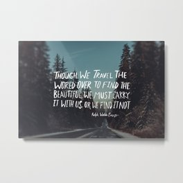 Road Trip Emerson Metal Print