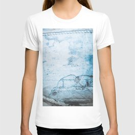 Blue Wall in the Blue City Jodhpur in Rajasthan, India   Travel Photography   T-shirt