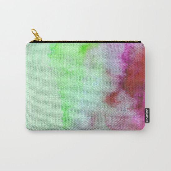Lime & Pomegranate #society6 #decor #buyart Carry-All Pouch