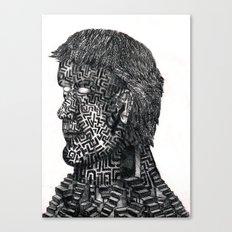 Maze ID Canvas Print