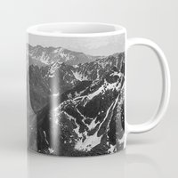 jon snow Mugs featuring Archangel Valley by Kevin Russ