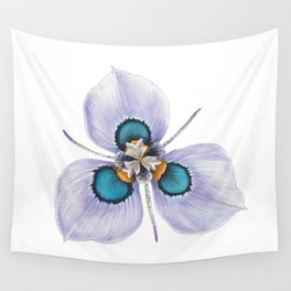 Flower Painting | MORAEA VILLAS | Watercolour | Nature Wall Tapestry