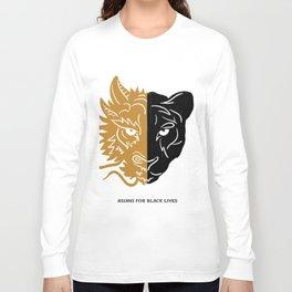 Asians For Black Lives Long Sleeve T-shirt
