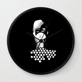 Dotted Woman Wall Clock