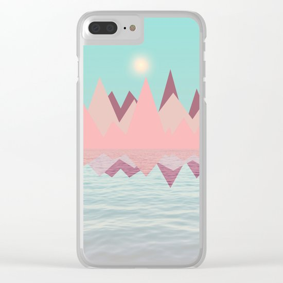 Spring Landscape II Clear iPhone Case