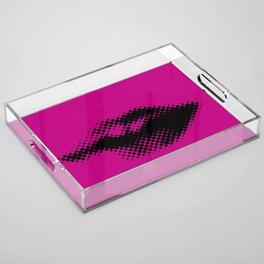 Pop Lips Acrylic Tray