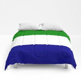 Flag of Sierra Leone Comforters