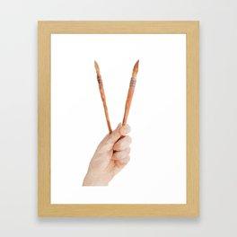 ART HAND Framed Art Print
