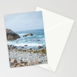 The Restless Sea | Nature Landscape Photography of the Californian Coast's Blue Waves Stationery Cards