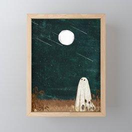 Meteor Shower Framed Mini Art Print