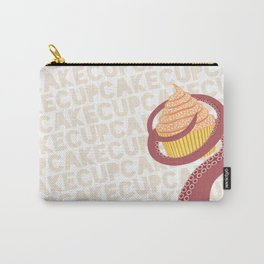 Cupcake Squid Carry-All Pouch