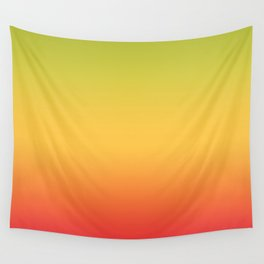 Tropical Colorful Gradient Pattern Wall Tapestry