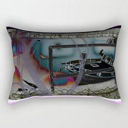 Remote Yachting Rectangular Pillow