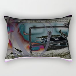Remote Yachting Rectangular Pillow