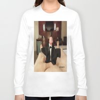 cunt Long Sleeve T-shirts featuring funny painting slut BDSM fetish Big dick cock suck oral sex pussy cunt transgender anal fuck  by Velveteen Rodent