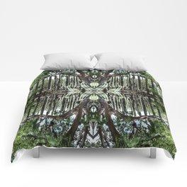 Oaxaca groves Comforters