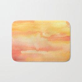 Apricot Sunset Bath Mat