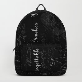 Priceless, Timeless, Unforgettable Backpack