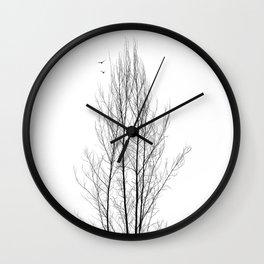 Naked Tree Wall Clock