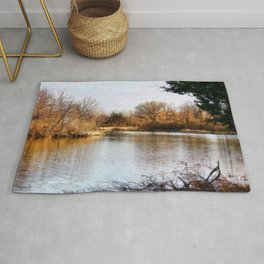 Woods Lake - Shelbyville, IL Rug