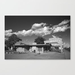 Route 66 - Blue Swallow Motel 2010 Canvas Print