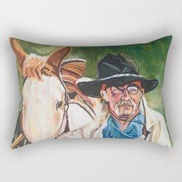 The Cowboy Rectangular Pillow